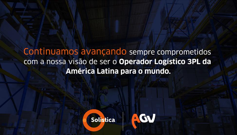 Solistica anuncia a aquisição da AGV empresa Brasileira