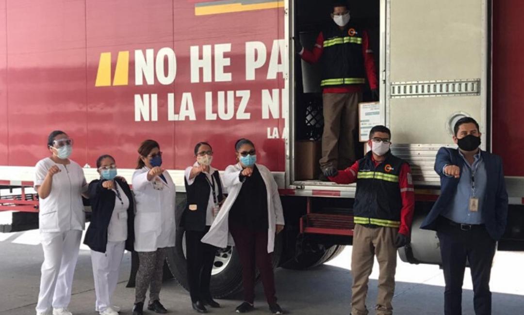 Contagia Solidaridad entrega 20 mil equipos de protección para personal de salud